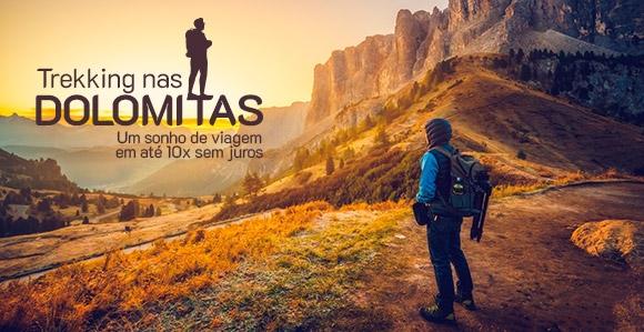 Promoção Trekking nas Dolomitas