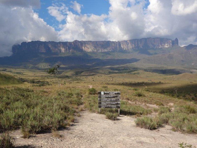 O imponente Monte Roraima