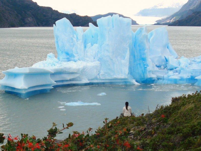 Glaciar Grey - Parque Torres del Paine - Foto: Claudia Ribeiro