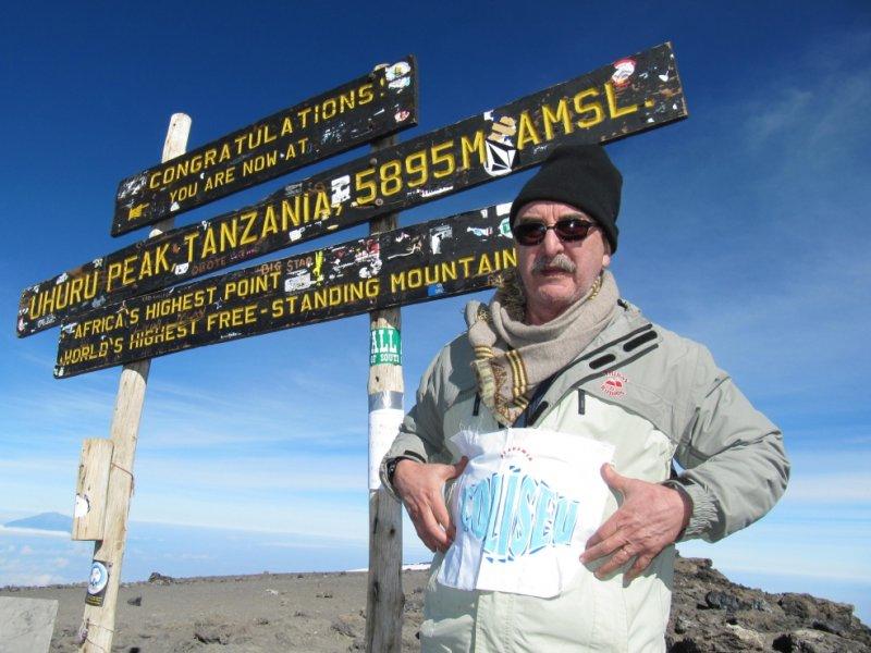 Cume do Kilimanjaro