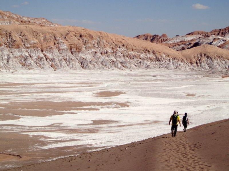 trekking Piedra del Coyote -Quebrada Kari