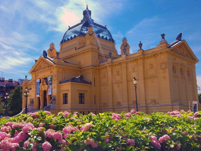 Zagreb no Verão