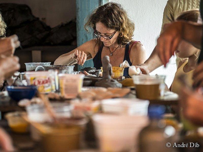 Vale do Jequitinhonha - Oficinas de Pintura