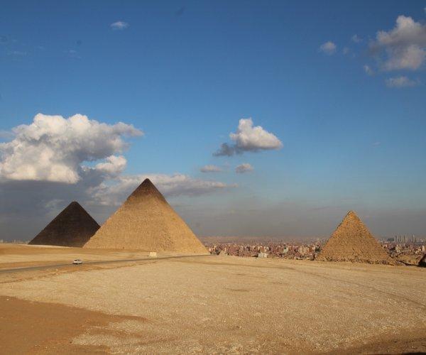 Cairo e as pirâmides