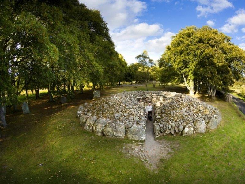 Clava Cairns - crédito: Visit Scotland