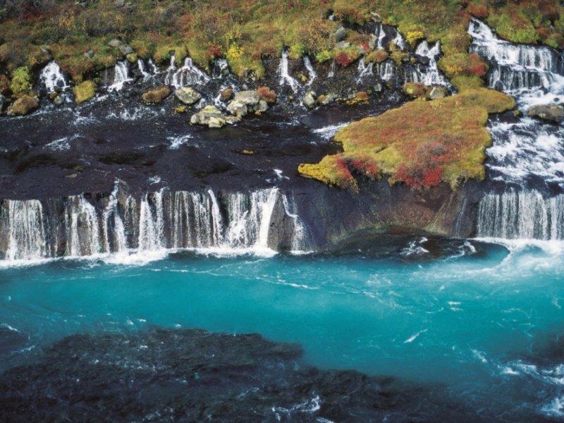 Hraunfoss - Islândia