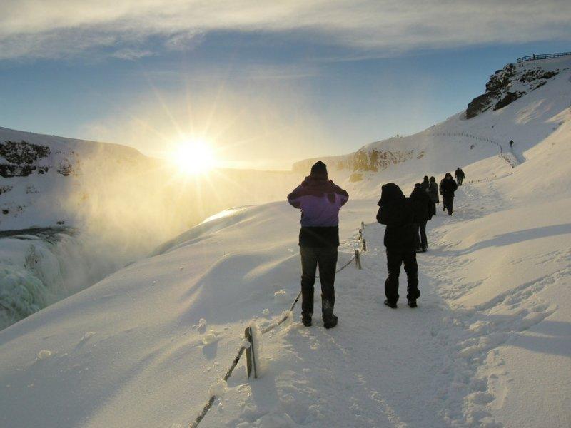 Inverno na Islândia