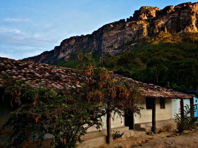 Chapada Diamantina - casa de moradores locais