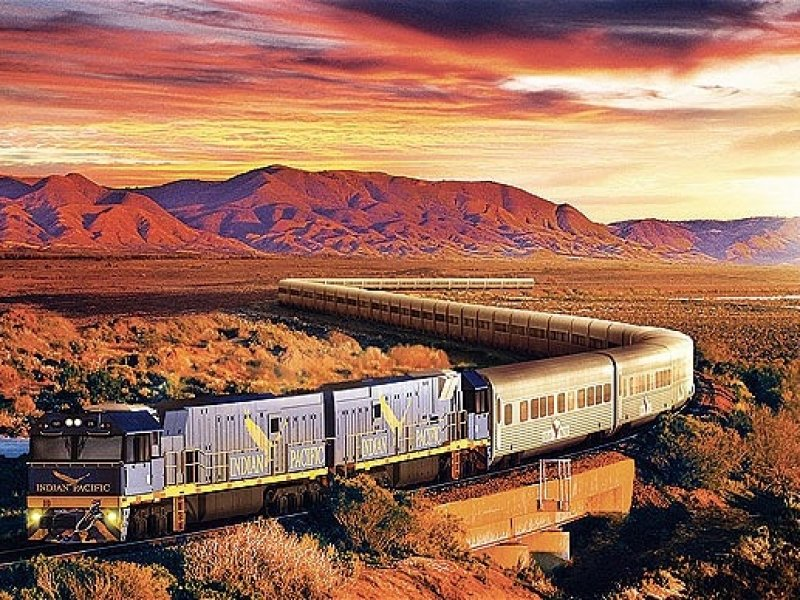 Train Indian pacific