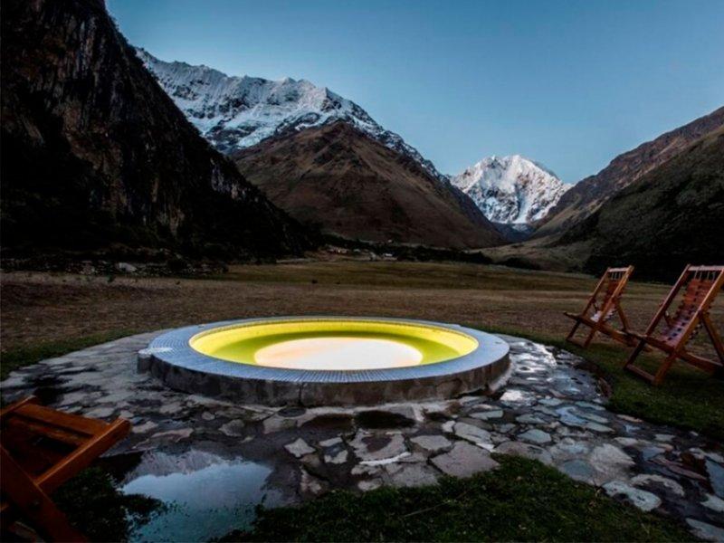 Jacuzzi no Mountain Lodge