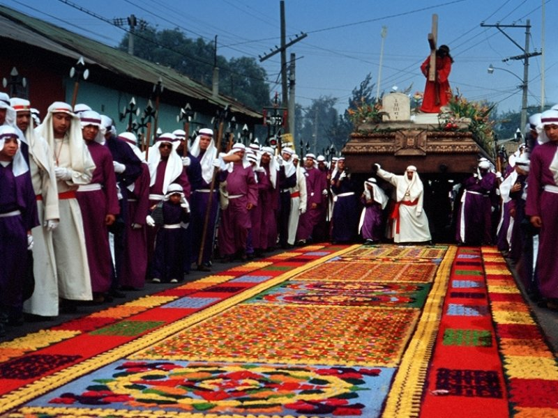 Páscoa na Guatemala