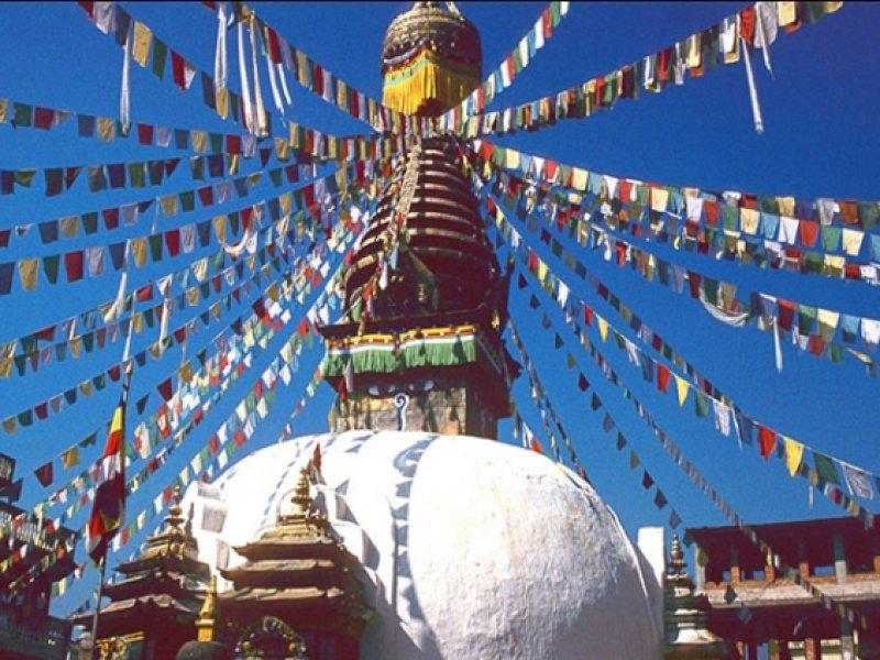 Swayambhunath Stupa - Kathmandu