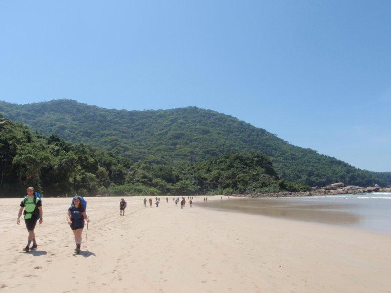 Caminhada - Praia de Antigos - Foto: Ricardo Oliveira