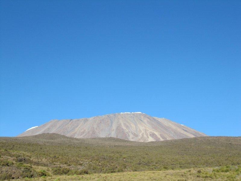 Vista do Kilimanjaro