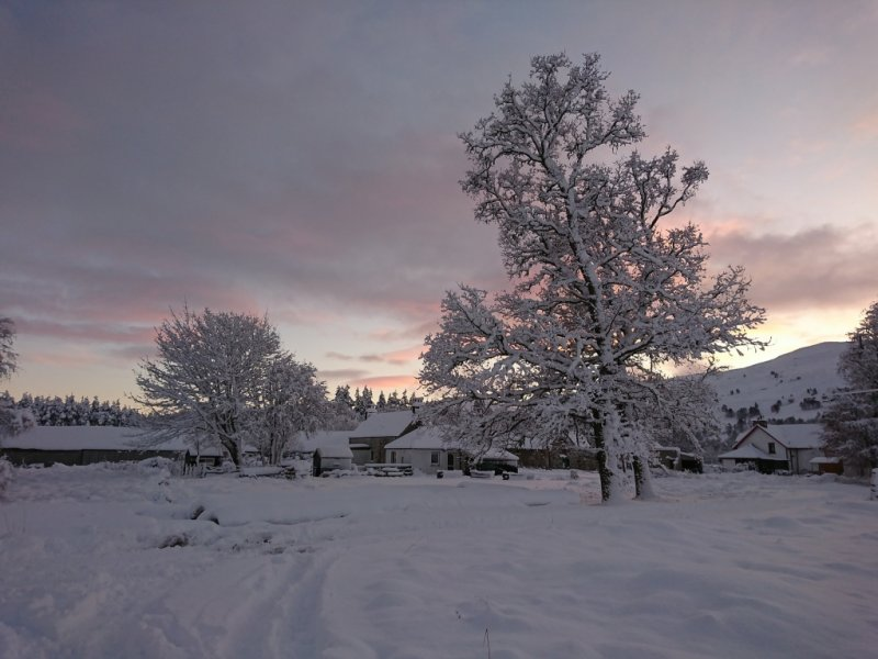 Escócia no Inverno