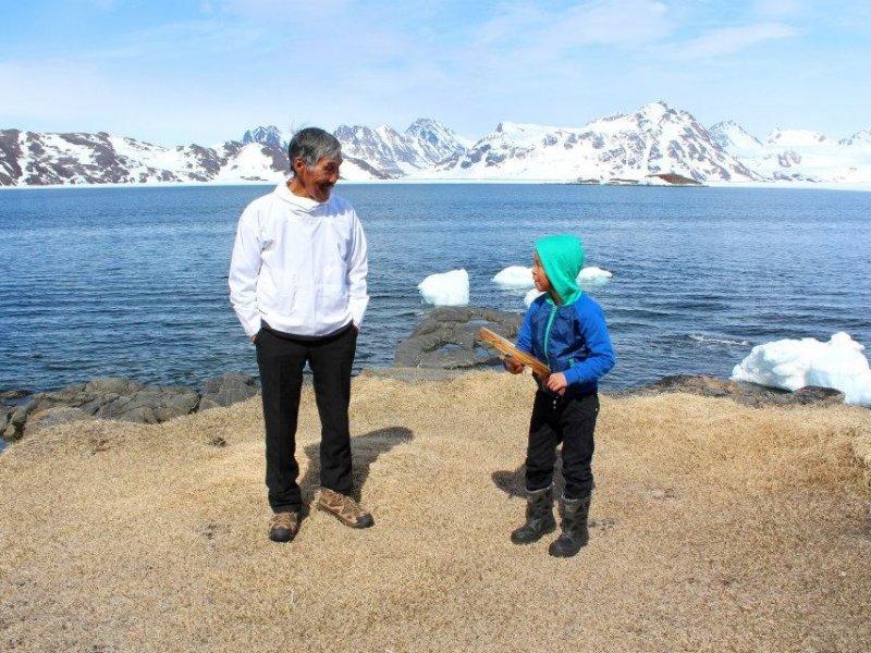 Cultura Inuit em Kulusuk - crédito: Patrícia Dozzi