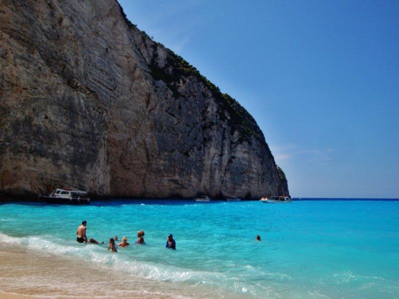 Praia do Naufrágio (Navagio Beach) - Ilha Zakynthos