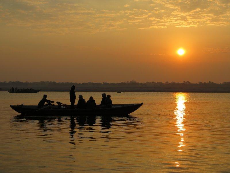 Rio Ganges  - Varanasi