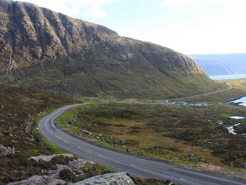 Cicloturismo nas ilhas Outer Hebrides