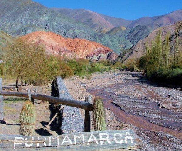 cerro de las site colores - purmamarca