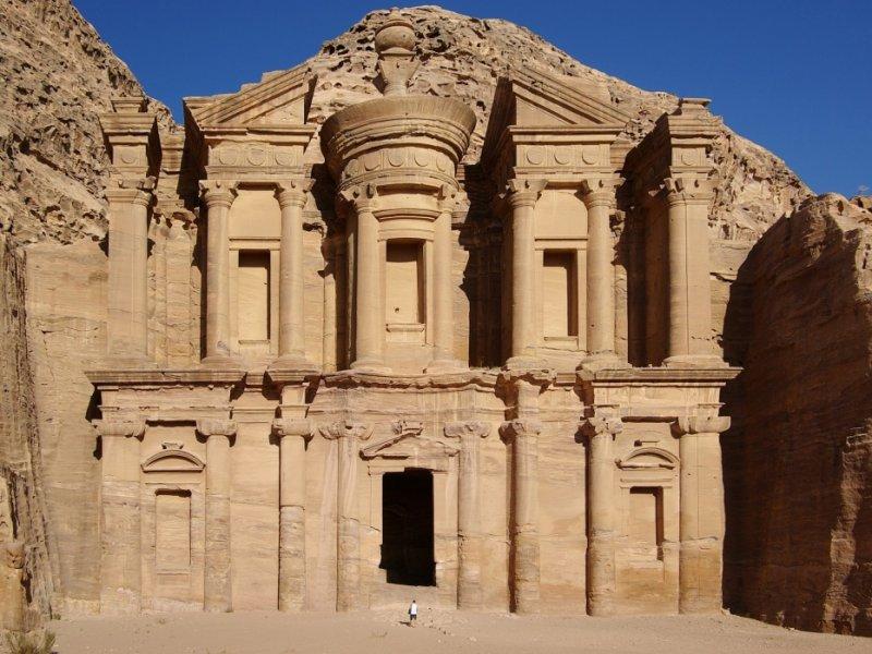 Monastério - Petra - Jordânia