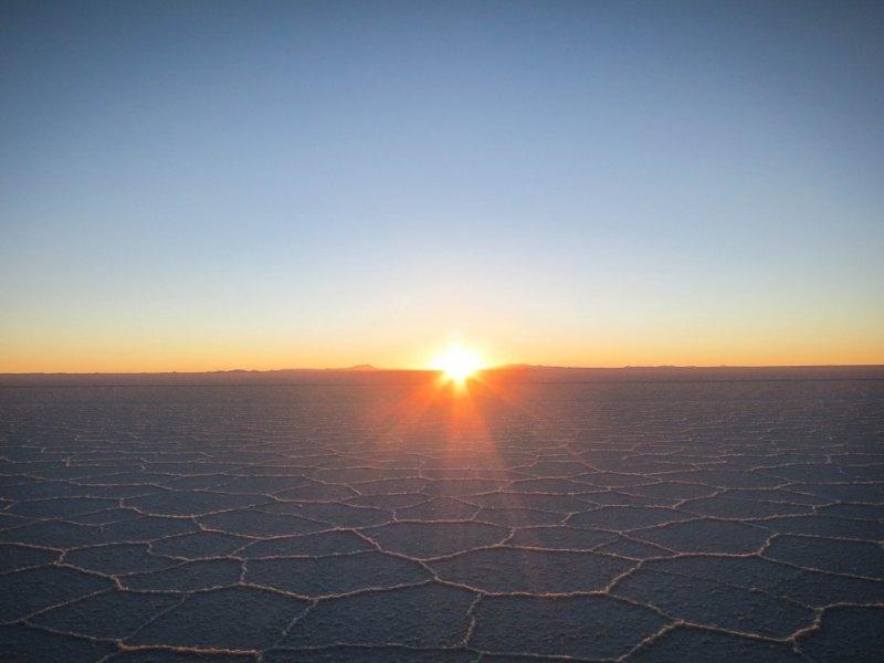 Salar do Uyuni seco