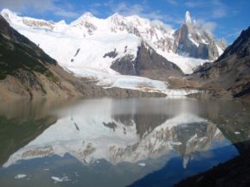 Cerro Torre e Laguna - Foto: Claudia Ribeiro