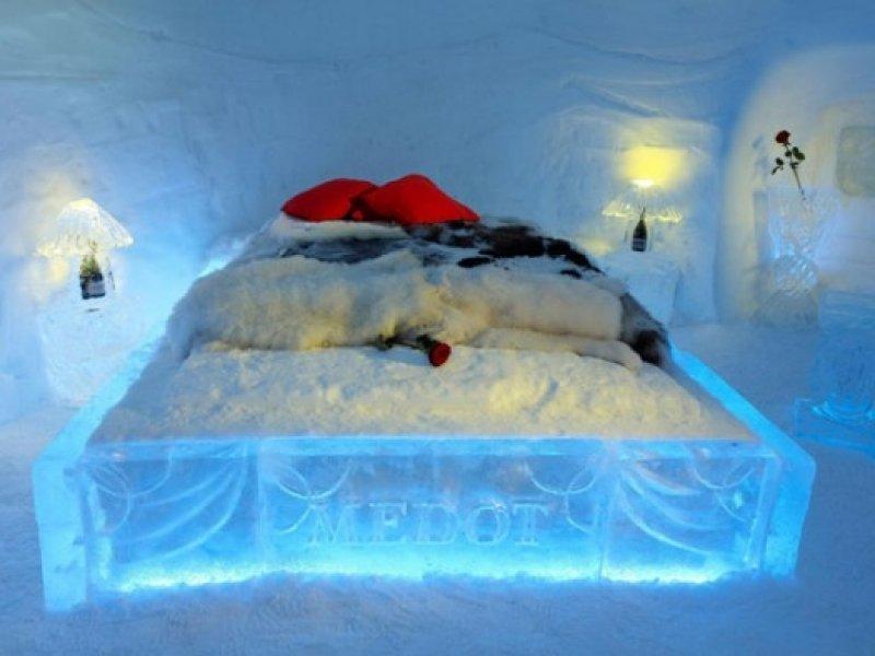 Hotel de Gelo - quarto