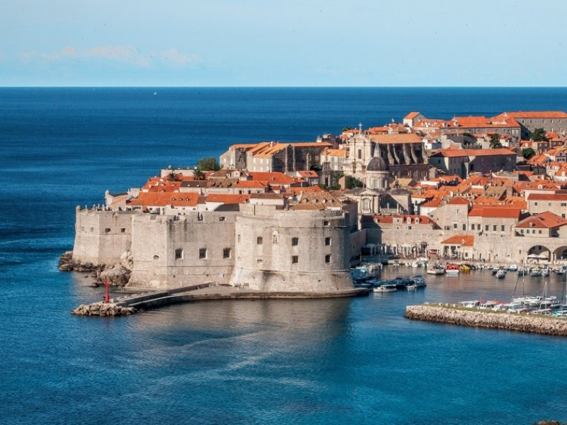 Dubrovnik no Verão