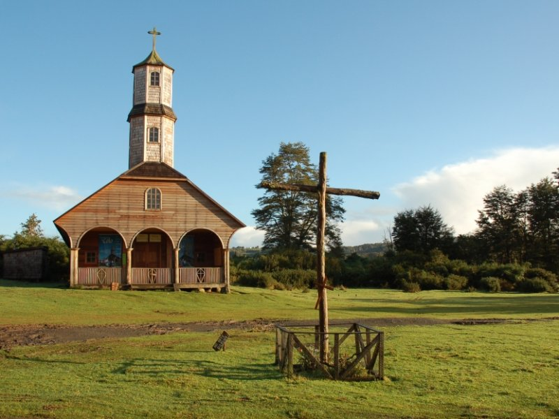 Chiloe - Igreja de Madeira- Chile