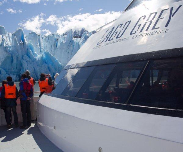 Navegação Lago Grey - Torres del Paine