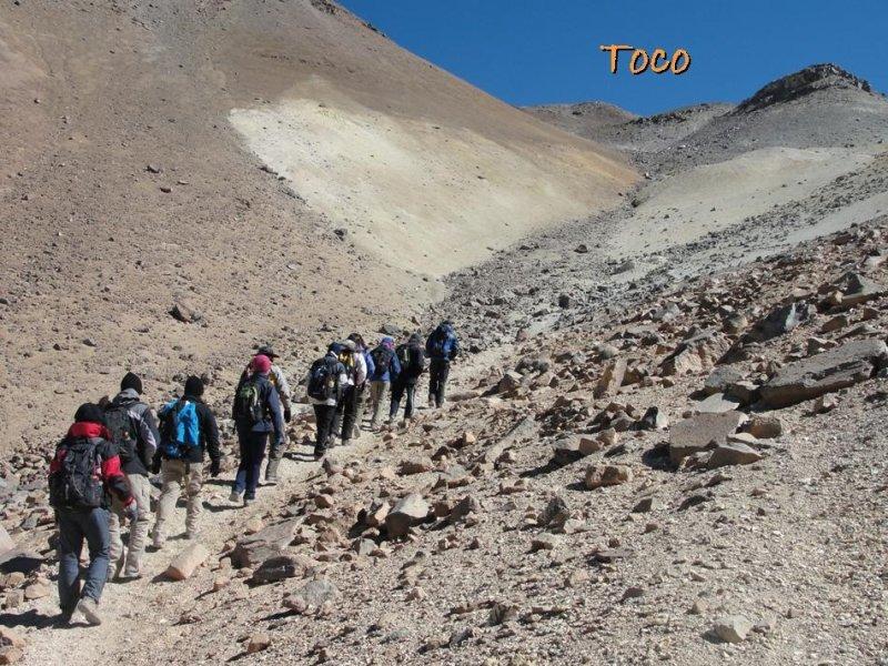 trekking Vulcao Cerro Toco