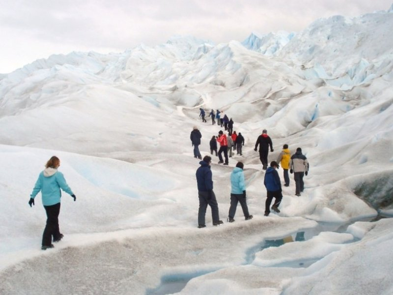 Caminhada sobre o gelo no Glaciar Perito Moreno - El Calafate (opcional)