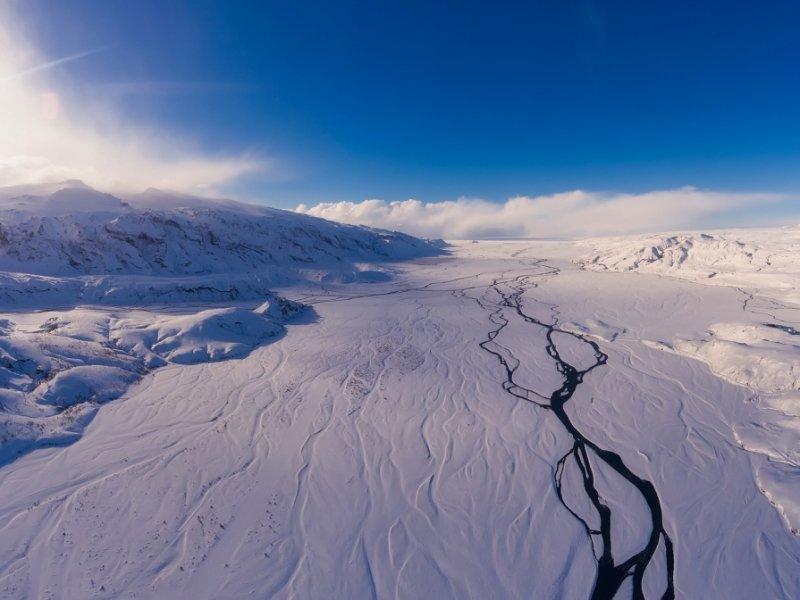 Islândia no Inverno