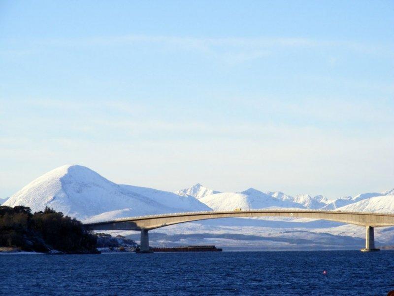 Ilha de Skye no Inverno