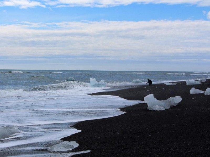 Praia Diamante - Jokulsarlon