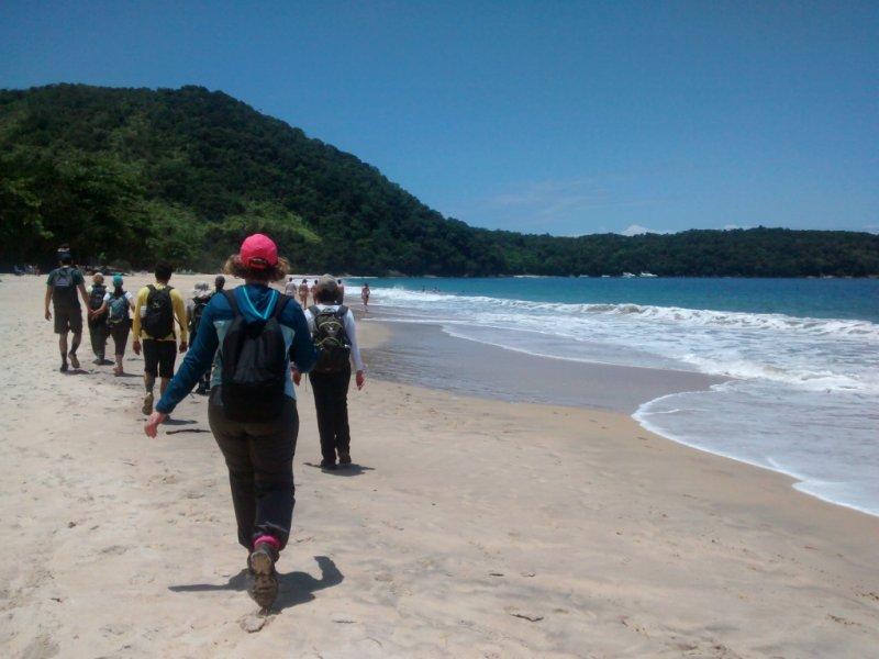 Trekking na Praia da Figueira