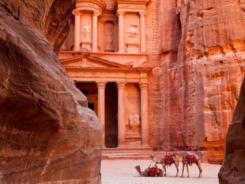 Petra - crédito: Visit Jordan