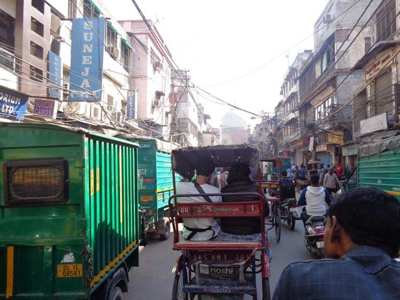 Delhi mercado