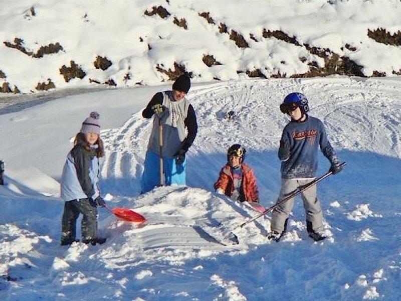 Crianças na Neve