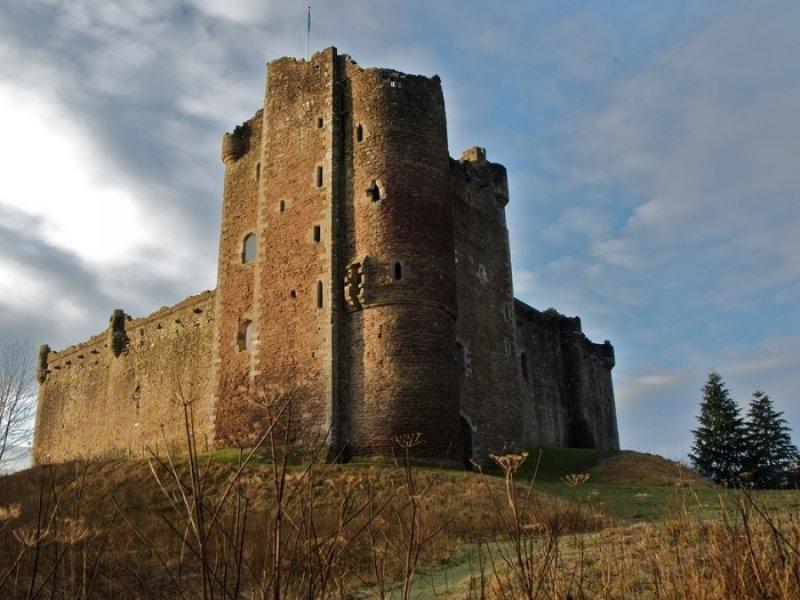 Doune Castle - Castle Loech - crédito: Visit Scotland