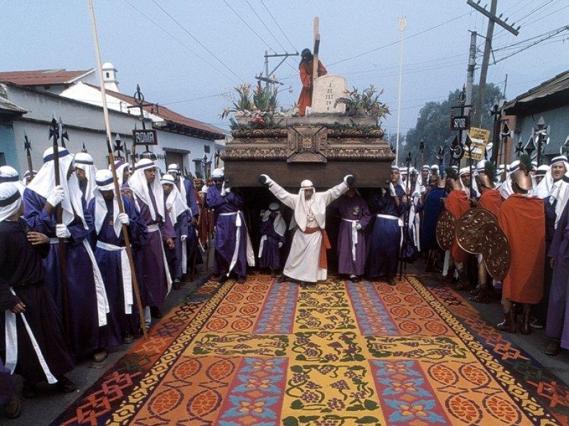 Semana Santa em Antigua