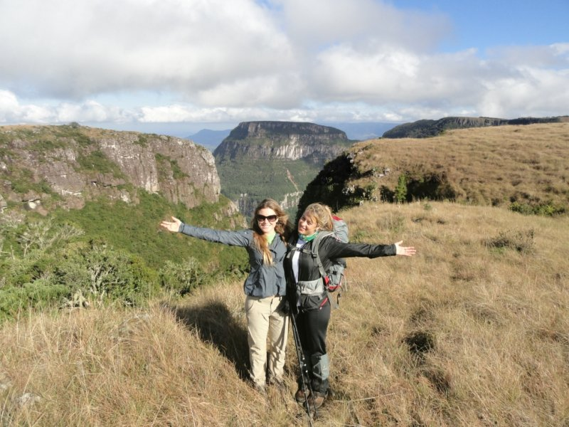 Cânions do Sul - Karina Oliani e Júlia Ericsson