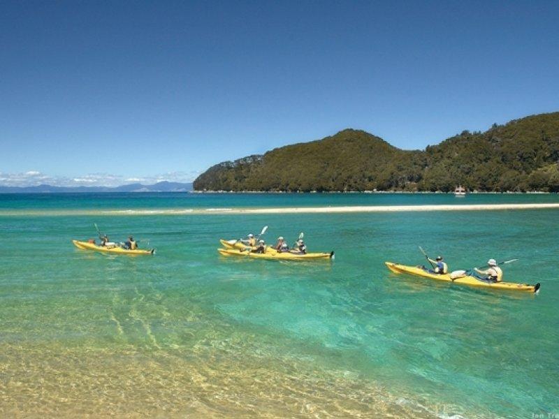 Abel tasman National park - créditos: Ian Trafford