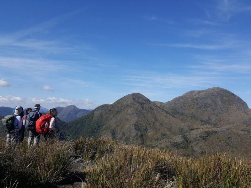 Visual do 2º dia de trilha da Pedra da Mina do alto do Melano