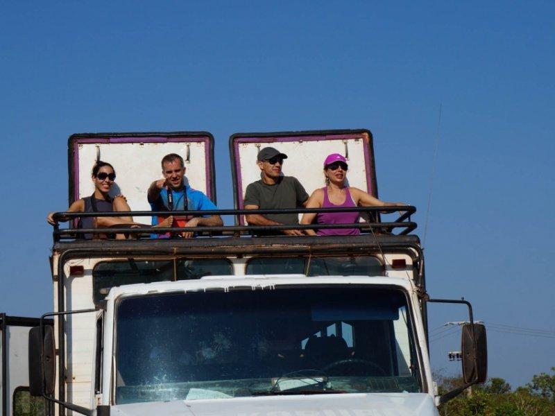 Transporte em caminhão especial