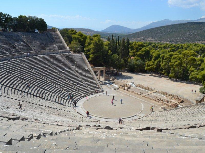 Teatro em Epidauros