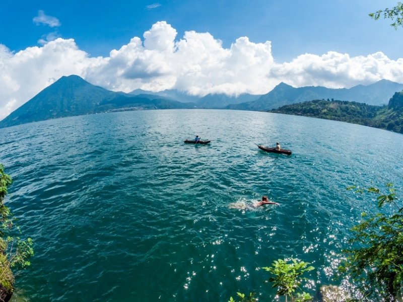 Lago Atitlán - crédito: Visit Guatemala (Maynor Mojangos)