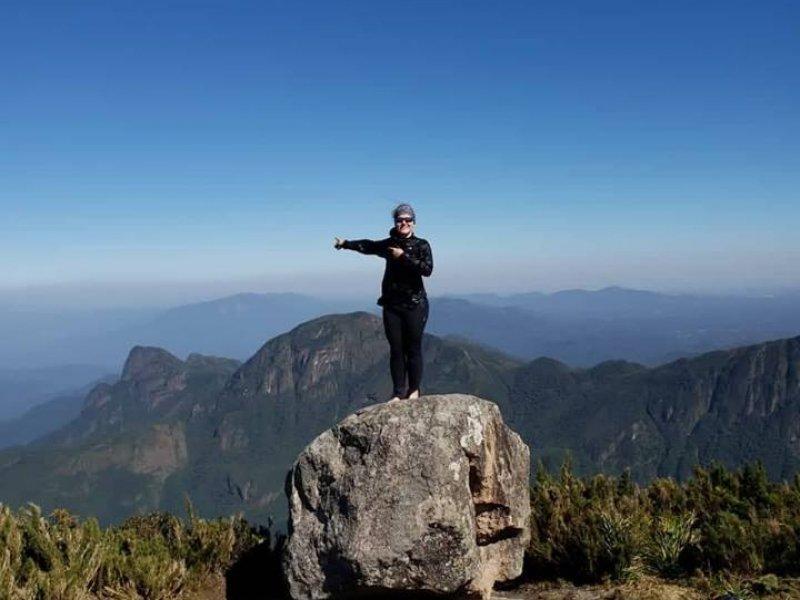 Visual do Cume do Pico Paraná