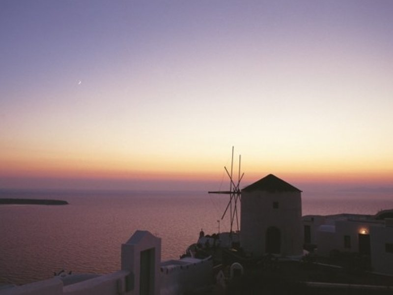 Santorini - crédito: Visit Greece